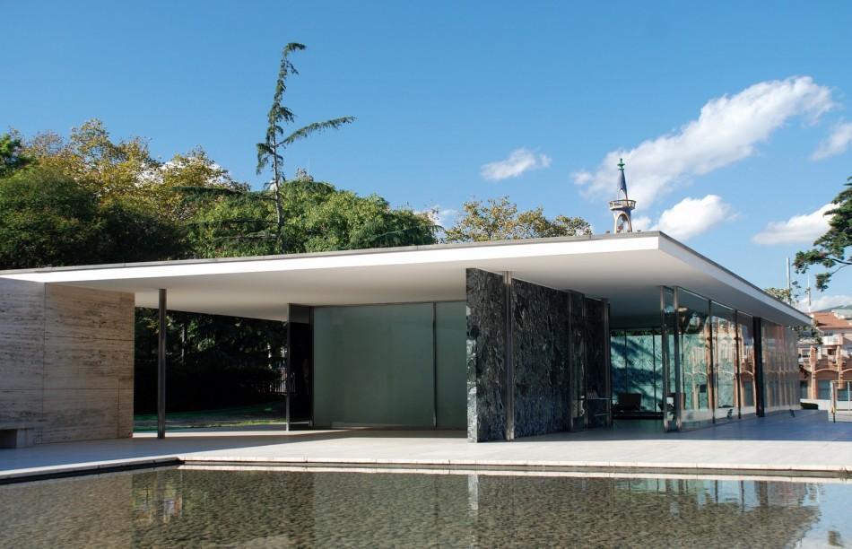 Barcelona Pavilion  Architecture - Celebrate Mies  Barcelona Pavilion by van der rohe e1332939949528