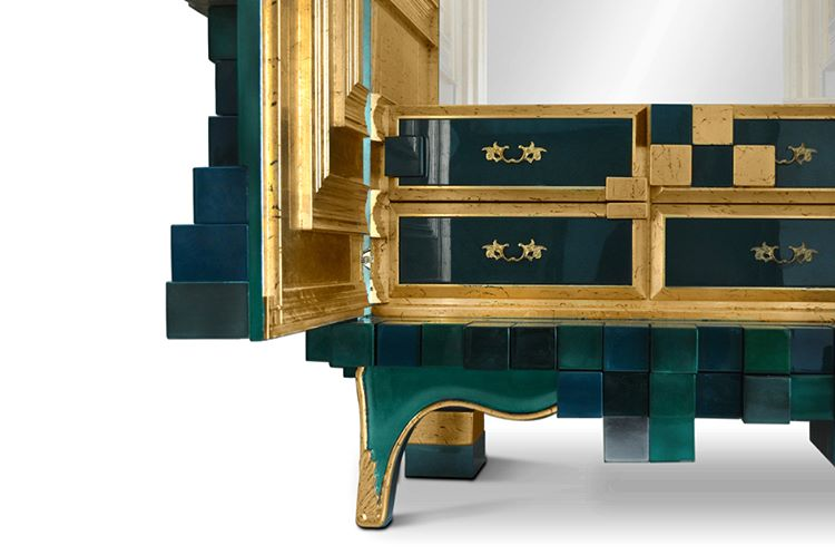 Piccadilly Cabinet by bocadolobo made from poplar is the resulthellip
