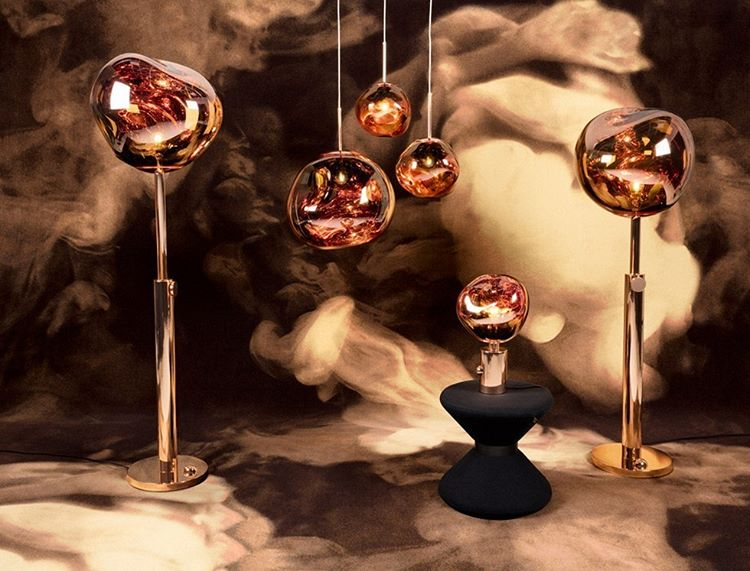 The Melt table light by tomdixonstudio is a beautifully distortedhellip