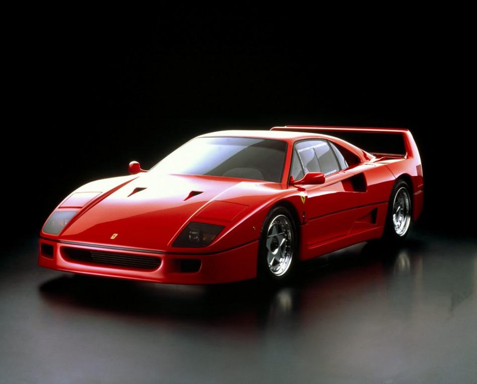 Ferrari F40 1  Lifestyle - Top 10 Iconic Supercars ferrari f40 1 e1338483939349