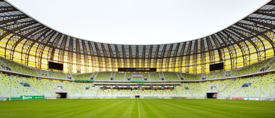 PGE Arena  Architecture - Uefa Euro 2012 Top Stadiums EM Pressebild GROHE PGE Arena Danzig4 e1340183514134