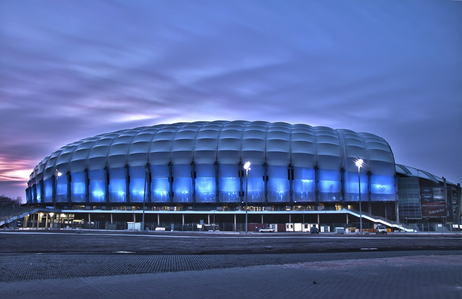 Municipal Stadium Poznan  Architecture - Uefa Euro 2012 Top Stadiums Poznan 02 e1340185624422