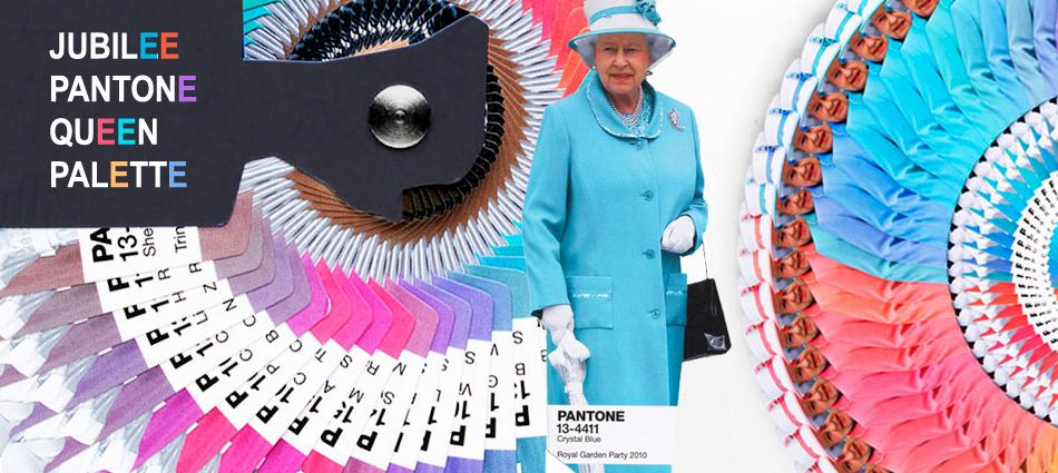 Diamond Jubilee Queen Pantone