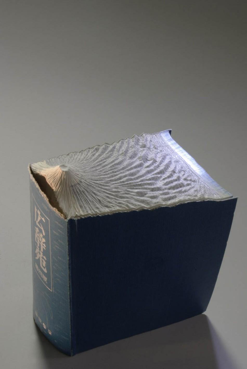 Guy Laramee  Arts & Crafts – Book Art by Guy Laramee landscape book art guy laramee 9 e1340190581113