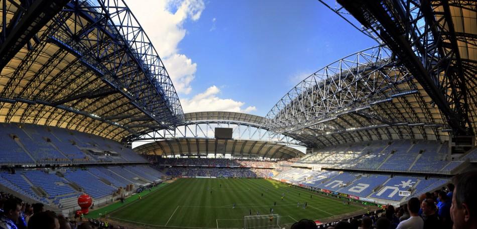 Municipal Stadium Poznan  Architecture - Uefa Euro 2012 Top Stadiums poznan2 e1340188052733