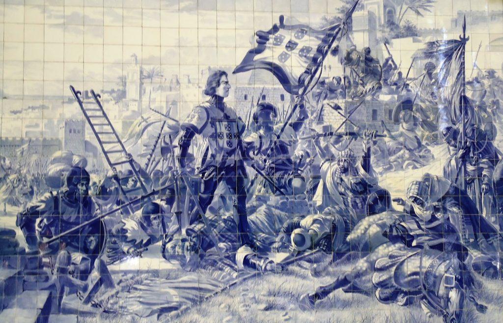 Historical details in cosmopolitan rut  Sao Bento 5