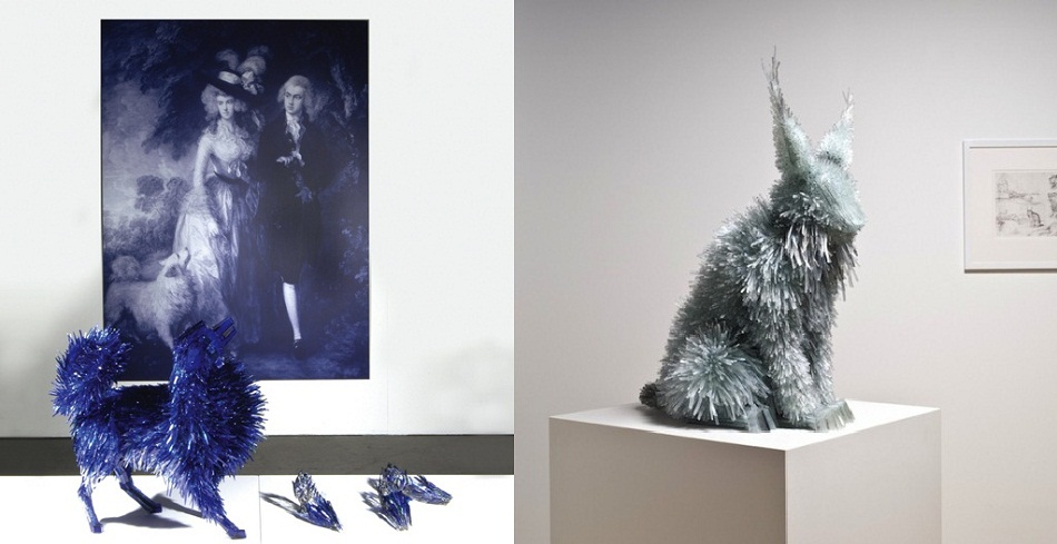 """""""Marta Klonowska gives glass another life. Animals made in glass are inspired in paintings. We can almost say award winning animals.""""  Marta Klonowska: glass art Imag6mmm"""
