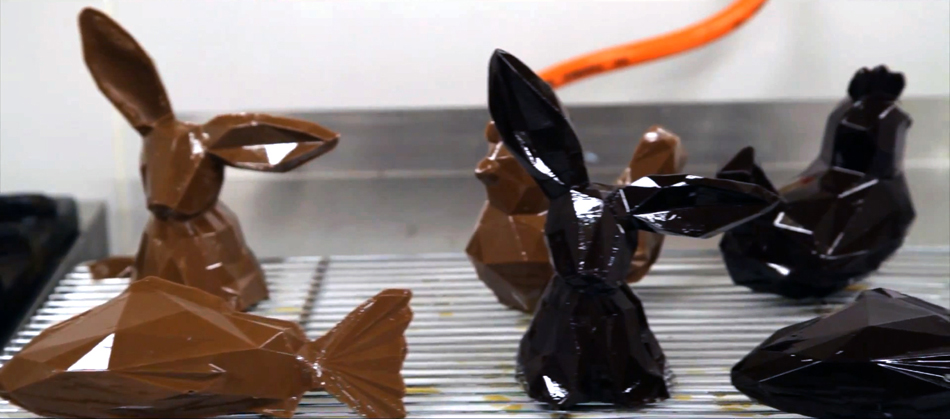 Daniel Mercier & La Grande Epicerie, Faceted Chocolate  Daniel Mercier & La Grande Epicerie 3