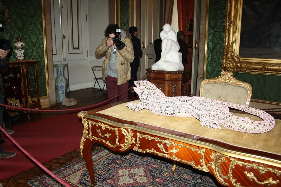 Joana Vasconcelos at Palacio da Ajuda  Joana Vasconcelos at Palácio da Ajuda 31