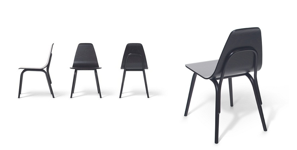 """""""The Austrian designer Thomas Feichtner designed a new chair for Czech Republic furniture brand TON that will be presented this April at Salone del Mobile."""""""