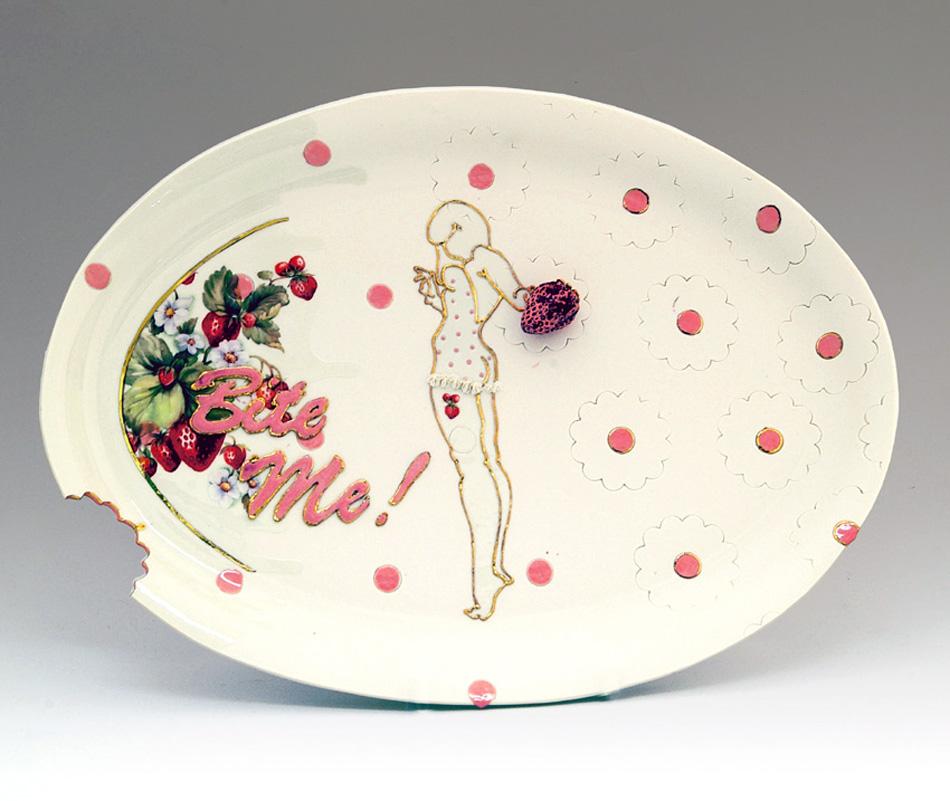 Rebecca Wilson's  Rebecca Wilson - Provocative Ceramics Rebecca Feminine Ceramics ILoboyou4