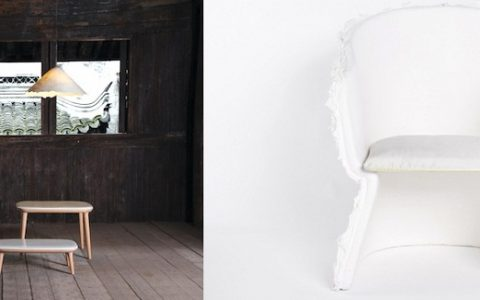 """Pinwu the chinese designers created a paper chair that worth them a nomination to Designs of the year by the London Design museum.""  Tié Chair Designed by Pinwu: the paper chair imag11 480x300"