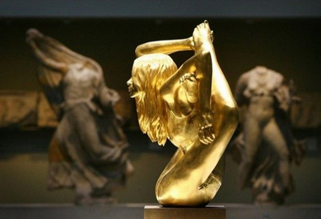 Siren is made entirely of 18 carat gold and willhellip
