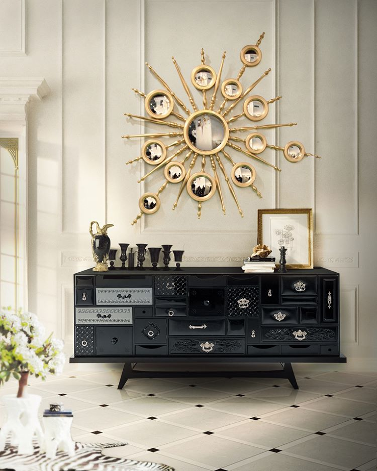 A more artisticapproach tothe furniture designing the Mondrian sideboard unitehellip
