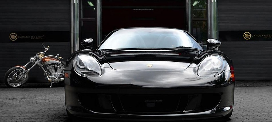 """""""I love Porsche Carrera GT's first unveiled back in 2004, now with a new interior design by Polish company for car interior designing Carlex design."""""""
