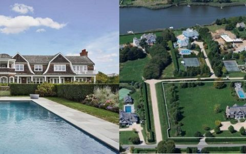 """Jennifer Lopez just bought a new $10 million house in the Hamptons, a chic 3-acre spread in Water Mill, NY. Hamptons beach house is perfectly private.""  Jennifer Lopez new luxury house in the Hamptons jennifer lopez buys in the hamptons 6 480x300"
