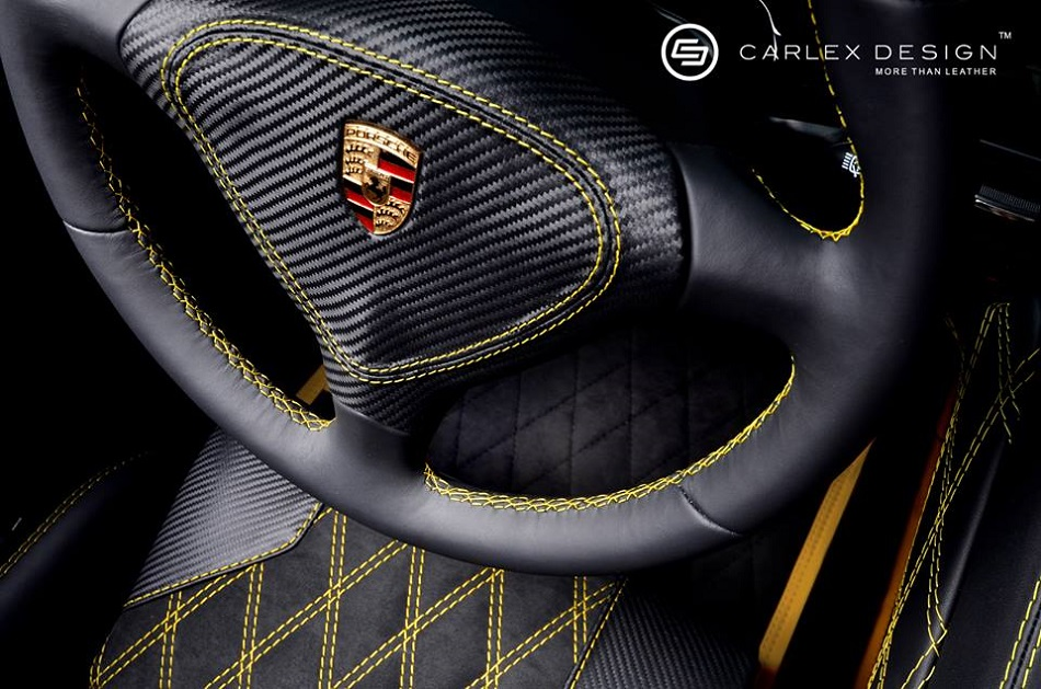 """""""I love Porsche Carrera GT's first unveiled back in 2004, now with a new interior design by Polish company for car interior designing Carlex design.""""  Porsche Carrera GT new interior design porsche carrera gt by carlex design 11"""