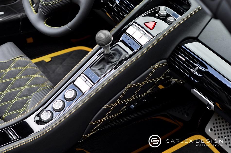 Porsche Carrera gt Interior Porsche Carrera gt is Powered