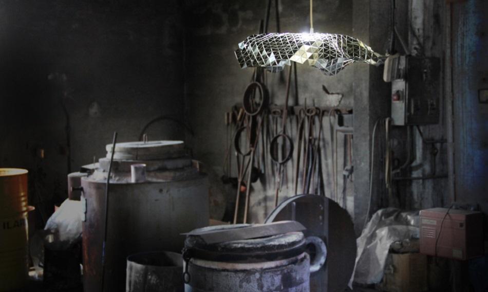 Ceiling lamp Facetat by Andreu Carulla 30 Facetada 02