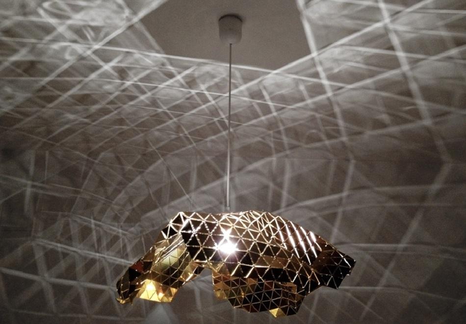 Ceiling lamp Facetat by Andreu Carulla 5122c65fb3fc4b23f9000100 los 10 productos seleccionados en product design madrid  andreu carulla facetada