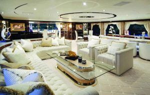 """""""Diamonds Are Forever is a true luxury yacht that meets the most demanding requirements with amounts of space. """""""