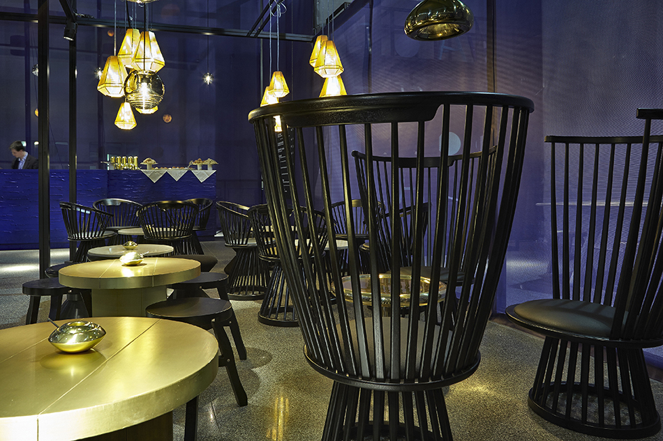 """""""Rough and Smooth"""" by Tom Dixon.   """"Rough and Smooth"""" by Tom Dixon 2"""