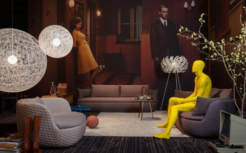 """""""Moooi has a new collection of seats, mostly sofas. With soft and delicate patterns this sofas bring a breath of fresh air to our houses this summer. """""""