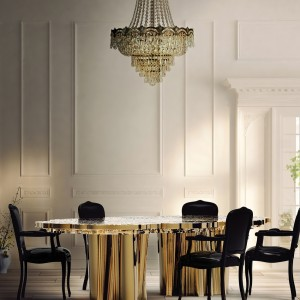 """""""There are so many amazing designs out there and that make the choice even more difficult. Here are the top 5 dining room tables from Boca do Lobo."""""""