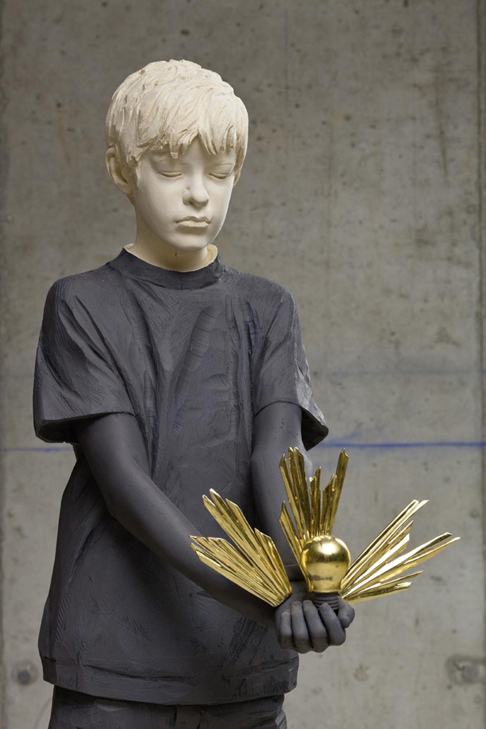 Willy Verginer Amazing Figurative Wood Sculptures  Willy Verginer Amazing Figurative Wood Sculptures 3