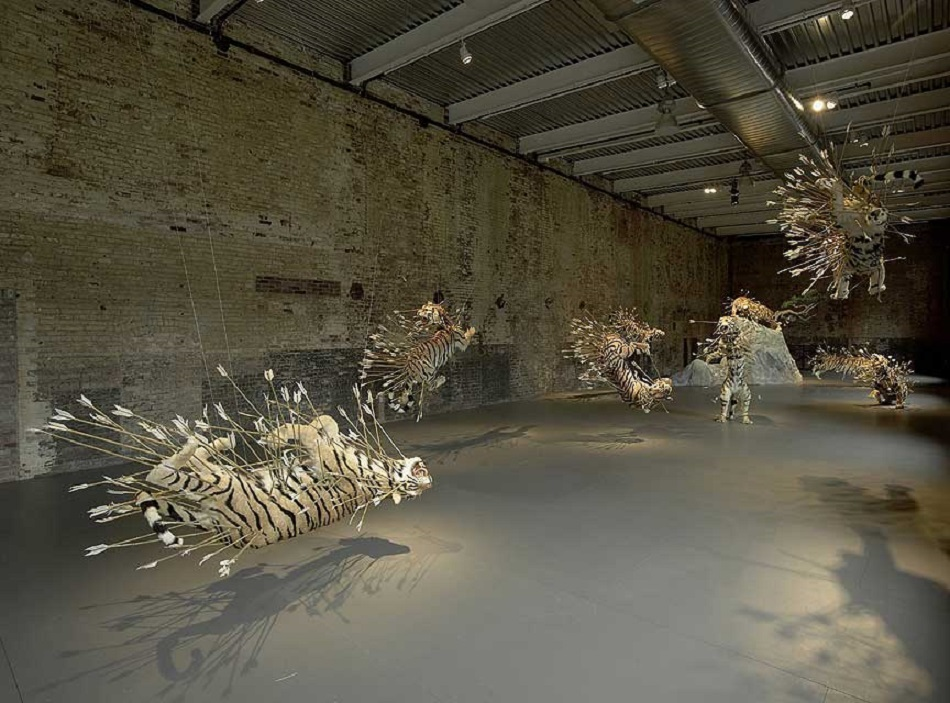 Cai Guo-Qiang was born in 1957 in Quanzhou City, Fujian Province, China, and lives and works in New York where he creates amazing sculptures. amazing sculptures Cai Guo-Qiang amazing sculptures in the best museums cai guo qiang 05