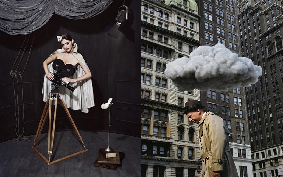 """Hugh Kretschmer's photographies have been described as curious, imaginative, unusual, conceptual and a little dark, but dark in a good way."" surreal photography Hugh Kretschmer surreal photography hugh kretschmer8"