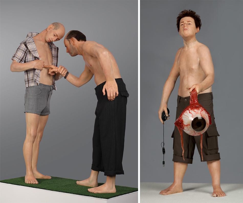 Zarko Baseski Human Sculptures Realistic Human Sculptures Zarko Baseski's Realistic Human Sculptures 4