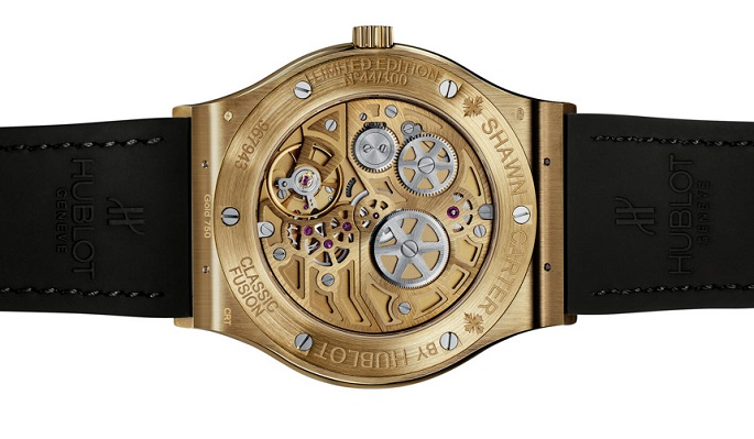 The famous rapper Jay-Z has just launched two limited edition watches for the Swiss Hublot.