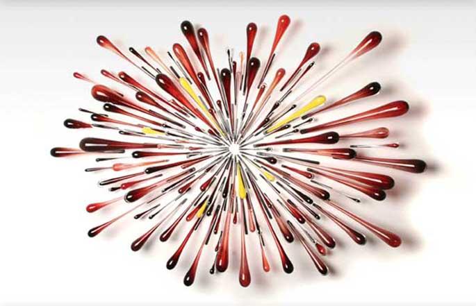 Graham Caldwell Fantastic Glass Art Work