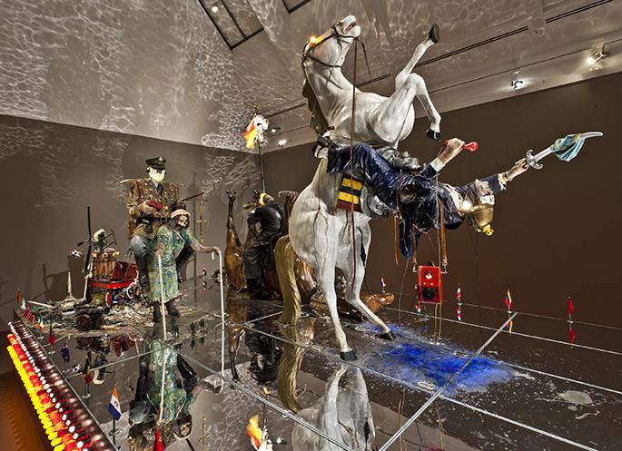 Kienholz Art Works - Politics on Parade  Edward and Nancy Kienholz Art Works Kienholz Art Works 3