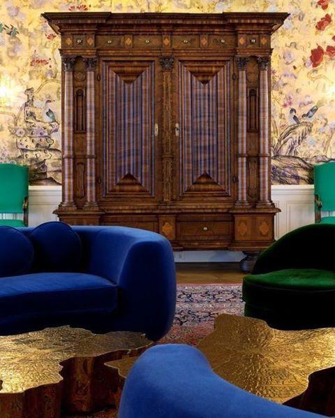 An amazing project by deniskosutic redesigningan Austrian palace  wherehellip