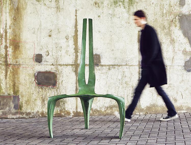 Fabolous contemporary chair design by Makers Eye In their ownwordshellip