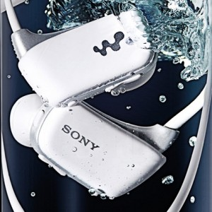 """""""Sony launched 'NWZ-W27′ walkman sports mp3 player, a water-proof, all-in-one digital device with 4GB of internal memory."""""""