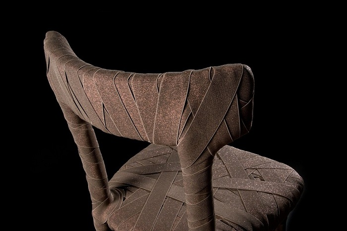 """""""Peter Traag is a furniture designer born in Tegelen in the Netherlands. He developed a new way of making exclusive furniture by hand.""""  Peter Traag modern furniture designs original design chairs 4164 4106941"""