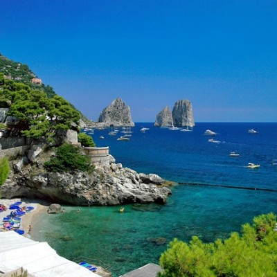 """""""Capri is an Island located in the Tyrrhenian Sea, in Italy.This is true paradise on hearth and for sure one of the best summer destinations for this year."""""""