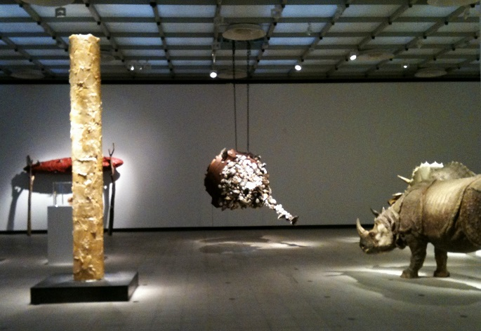 """""""Sun Yuan and Peng Yu are best known for shocking their audience through their controversial work with materials like human fat tissue and animals""""  Unique Sculptural Art by Sun Yuan and Peng Yu img 1090"""