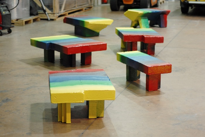 """""""Max Lamb was named Designer of the Future by Design Miami/Basel in 2008, Lamb has exhibited work internationally"""""""