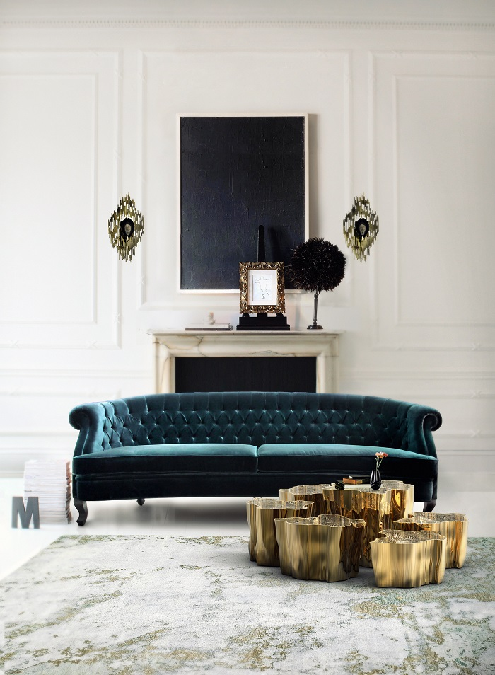 """""""A living room without a coffee table is undone. Just a small detail can complete a look, so too can the perfect coffee table."""""""