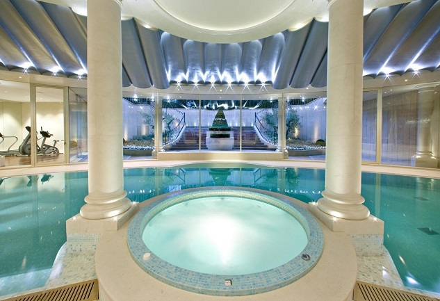 Hotel indoor pool luxury  Top 10 Luxury Indoor Swimming Pools | I Lobo You | Boca do Lobo's ...