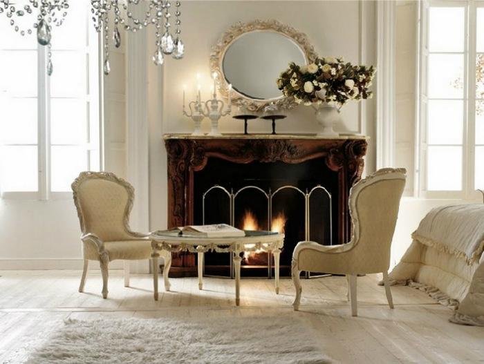 elegant-decor-round-mirrors  Round mirror: 10 ideas and styles elegant decor round mirrors