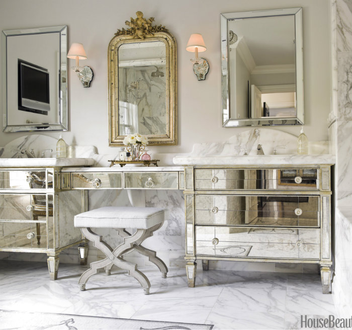 Modern and luxurious Dressing table   Iconic broadway dressing tables  hbx0610bath01 de