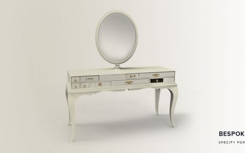 Astonishing luxury white dressing table melrose classic dressing table bespoke edition 480x300