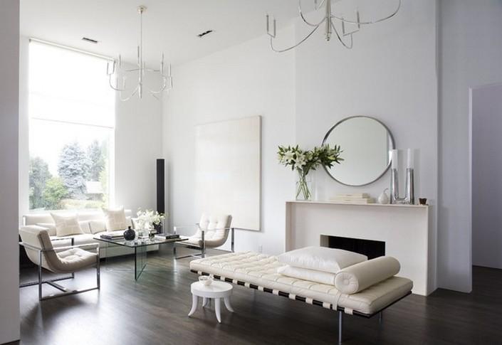 minimalist-design-round-mirrors  Round mirror: 10 ideas and styles minimalist design round mirrors