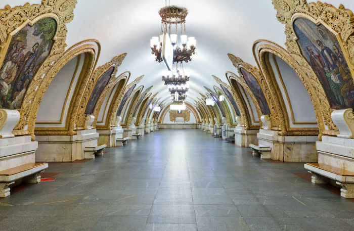 Top 10 most beautiful subway stations galleries   Top 10 most beautiful subway stations galleries  1