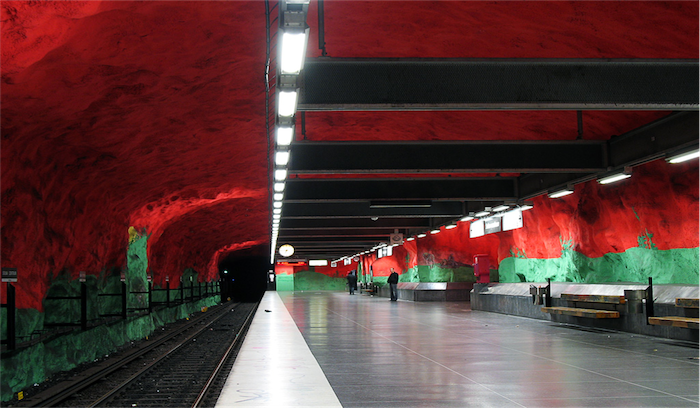 Top 20 most beautiful subway stations galleries   Top 10 most beautiful subway stations galleries  2
